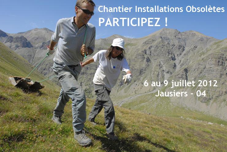 Participez au chantier Installations obsolètes avec Mountain Wilderness et Aventure Humaine
